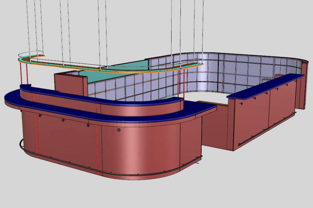 In-house CAD modelling facilitates detailed fabrication design