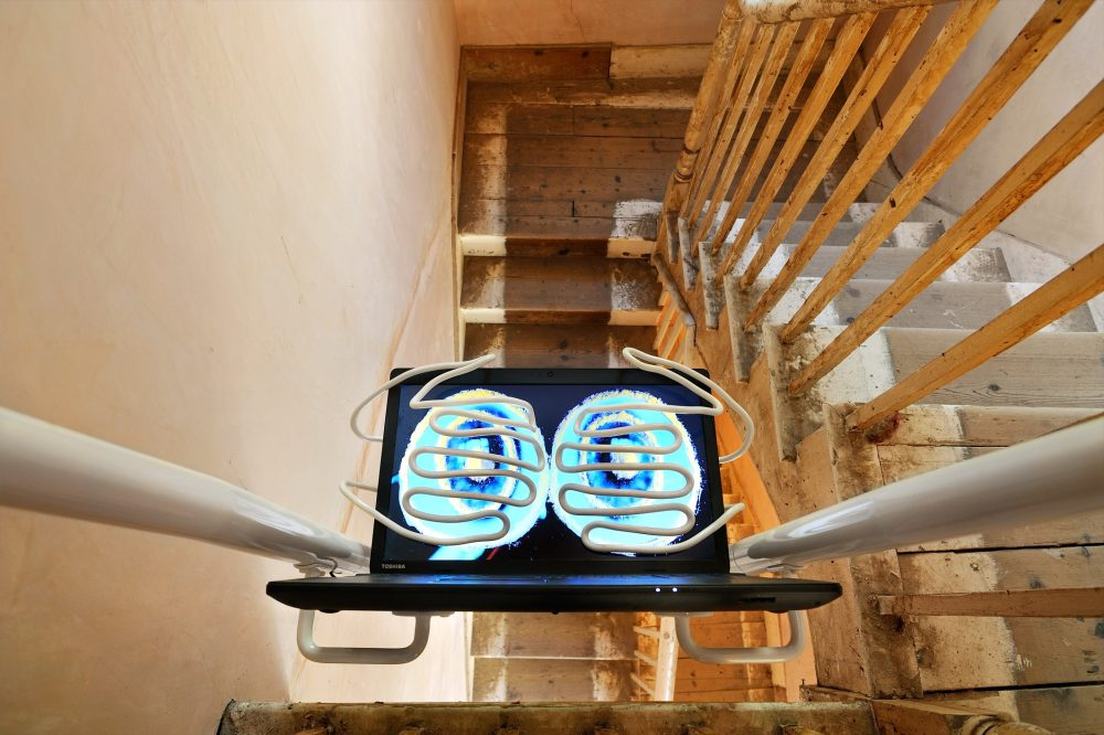 Emma Hart's exhibition 'Giving It All That' installed at the Folkestone Triennial. Images: Thierry Bal